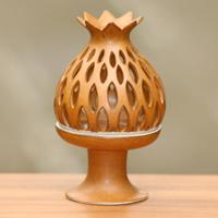 Ceramic tealight candleholder,