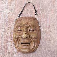 Wood mask, 'Anger'