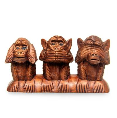 Wood Sculpture from Indonesia