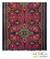 Cotton ikat wall hanging, 'Starlight on Red' - Artisan Crafted Cotton Ikat Wall Hanging (image 2) thumbail