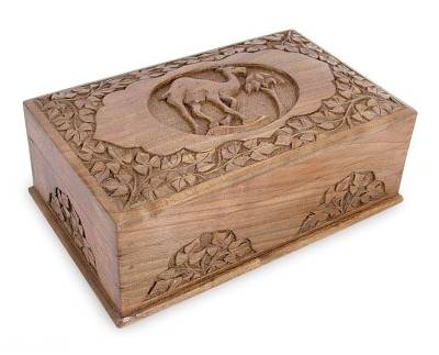 Handcrafted Wood Jewelry Box