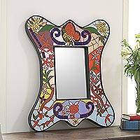 Featured review for Mosaic mirror, Rose Garden