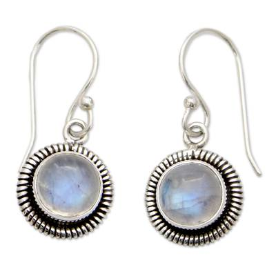 Artisan Crafted Moonstone Sterling Silver Women