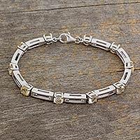 Citrine bracelet,