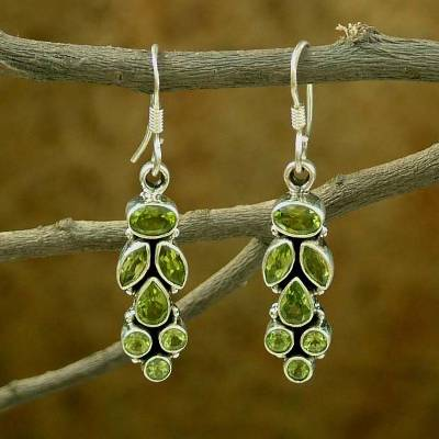 Summer Allure - Peridot Earrings