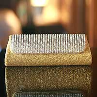 Beaded handbag, 'Golden Radiance' - Beaded handbag