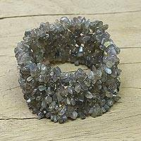 Featured review for Labradorite stretch bracelet, Sensuous