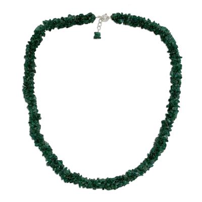 Fair Trade Beaded Aventurine Necklace