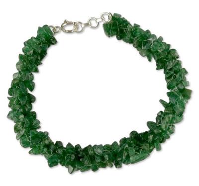 India Beaded Jewelry Hand Made Bracelet with Aventurine