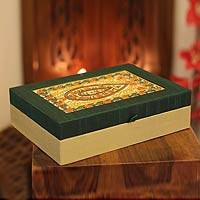 Jewelry box, 'Bhopal Treasures' - Jewelry box
