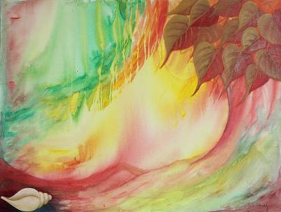'Cyclone' - Fine Art Original Abstract Painting