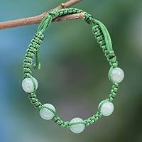 Featured review for Aventurine Shambhala-style bracelet, Healing Love
