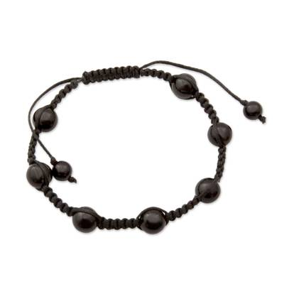 Unique Onyx Shamballa Bracelet