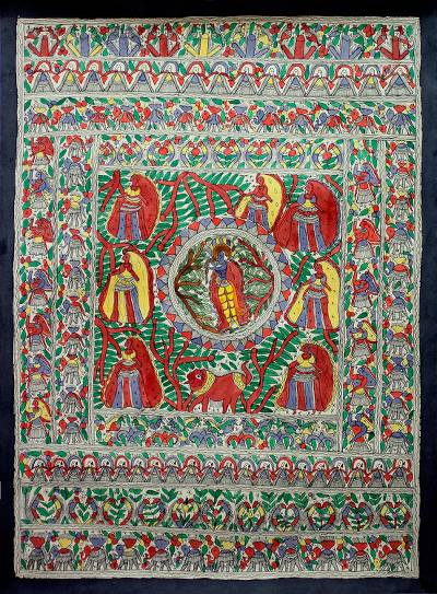 Madhubani Painting Hinduism Art