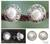 Cultured pearl button earrings, 'Royal Reminiscence' - Pearl Earrings in Sterling Silver Indian jewellery Collectio thumbail