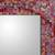 Glass mosaic wall mirror, 'India Sunset' - Handcrafted Indian Mosaic Glass Wall Mirror (image 2b) thumbail