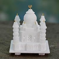 Marble sculpture, 'Taj Mahal' (small)