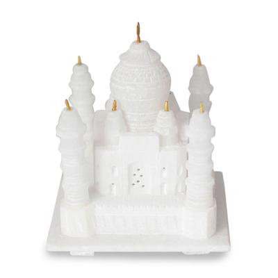 Marble sculpture, 'Taj Mahal' (small) - Marble sculpture (Small)