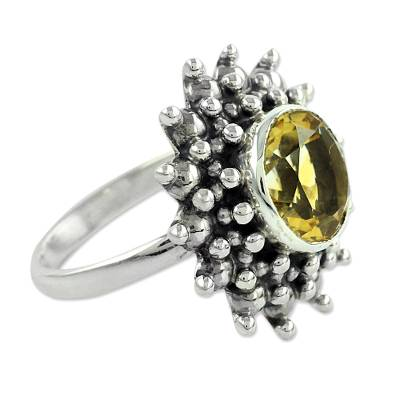 Citrine Jewelry Artisan Crafted Sterling Silver Jewelry