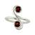 Garnet cocktail ring, 'Passion's Blush' - Garnet cocktail ring (image 2a) thumbail