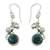 Cultured pearl flower earrings, 'Unique' - Cultured pearl flower earrings (image 2a) thumbail
