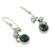 Cultured pearl flower earrings, 'Unique' - Cultured pearl flower earrings (image 2b) thumbail