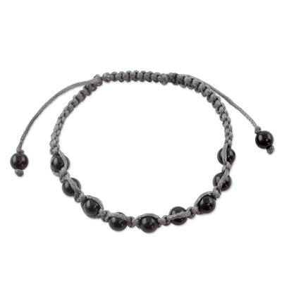 Onyx shamballa bracelet