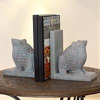 Soapstone bookends, 'Happy Hoppy Frog' (pair)