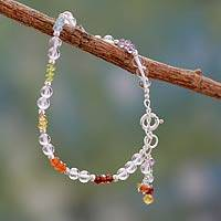 Featured review for Multi gemstone chakra bracelet, Inner Serenity