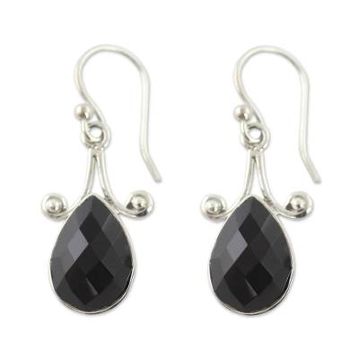 Artisan Crafted Onyx and Sterling Silver Jewelry