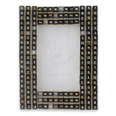 Unicef UK Market   Telephone Keys Upcycled as Handmade Photo Frame ...