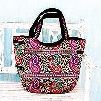 Brocade shoulder bag,