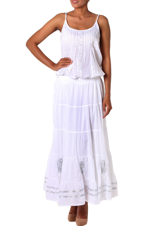 2ca4f7db01 White Cotton Skirts Uk – DACC