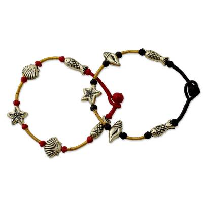 Cord wristband bracelets,