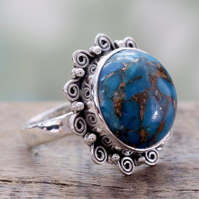 silver rings and earrings diamond