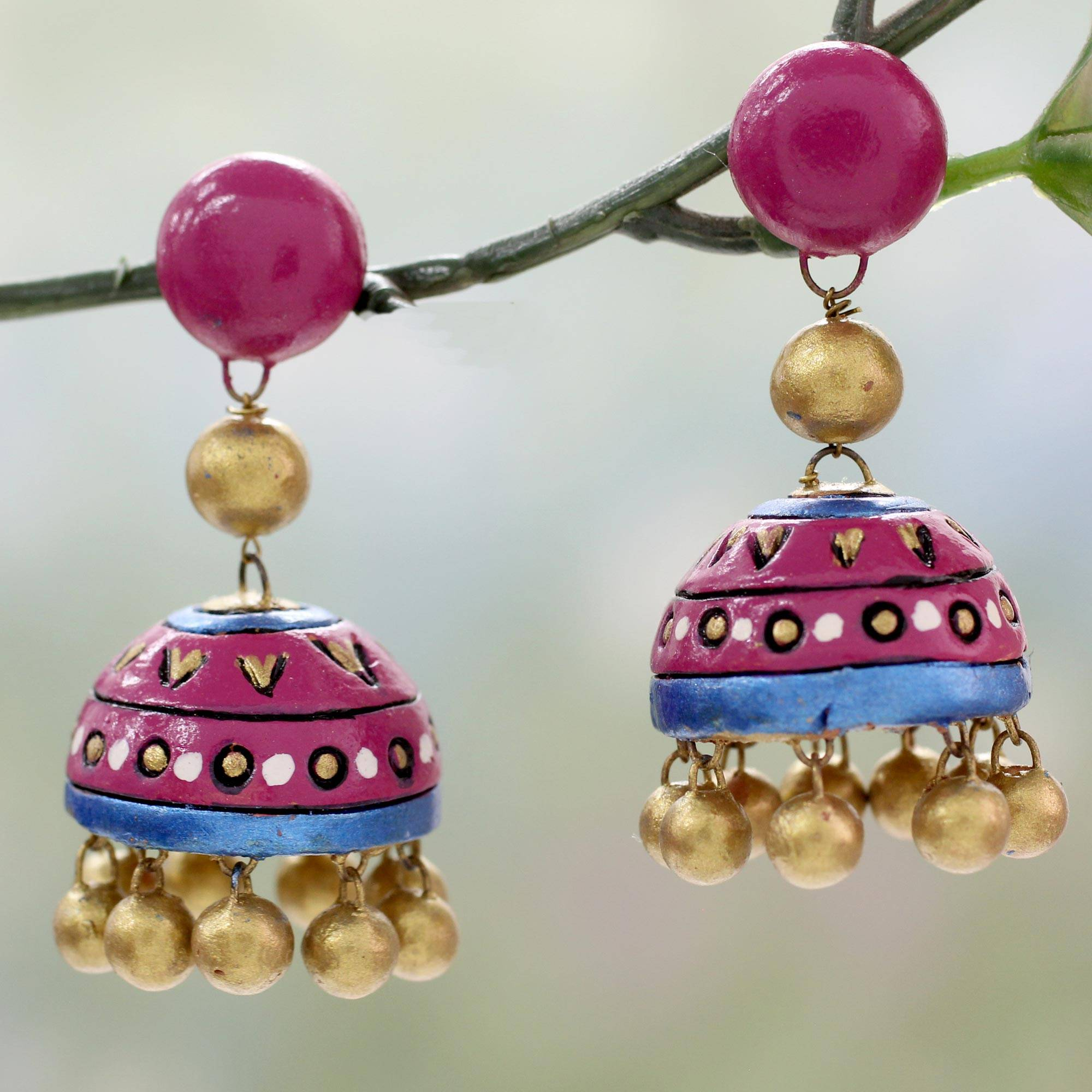 Pleasing Novica  Parasol With Engaging Ceramic Dangle Earrings Pink Harmony  Handcrafted Ceramic Dangle  Earrings In Pink And With Attractive China Garden Colne Also Great Notley Garden Village In Addition Teak Garden Table And Garden Stone Features As Well As Gravel Garden Designs Additionally Garden Party Buckingham Palace From Novicacom With   Engaging Novica  Parasol With Attractive Ceramic Dangle Earrings Pink Harmony  Handcrafted Ceramic Dangle  Earrings In Pink And And Pleasing China Garden Colne Also Great Notley Garden Village In Addition Teak Garden Table From Novicacom