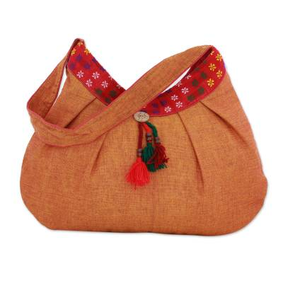 Novica Cotton shoulder bag, Thar Desert Travel