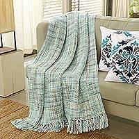Featured review for Throw blanket, Mint Beauty