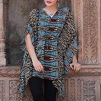 Featured review for Chiffon caftan, Wild Symphony