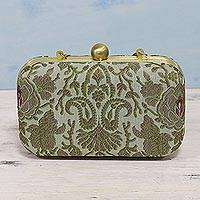 Brocade evening bag,