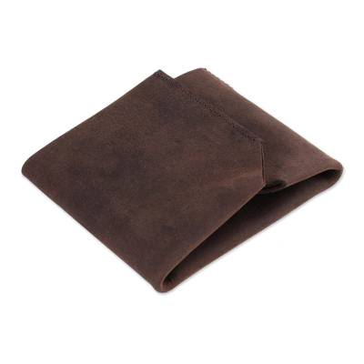 Handcrafted Trifold Chestnut Brown Men