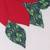 Cotton patchwork table runner, 'Christmas Poinsettias' - Floral Cotton Christmas Table Runner from India (image 2c) thumbail