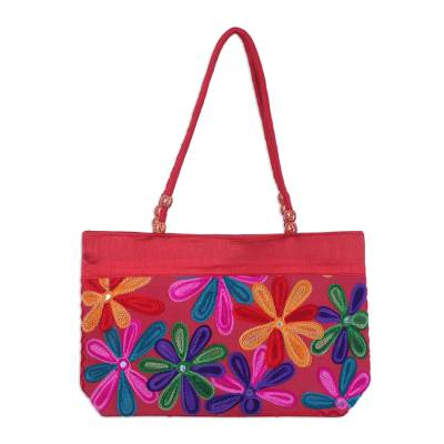 Novica Shoulder bag, Paisley Field