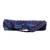 Quilted cotton yoga bag, 'Serene Dawn' - Blue and Red Cotton Yoga Bag from India (image 2b) thumbail
