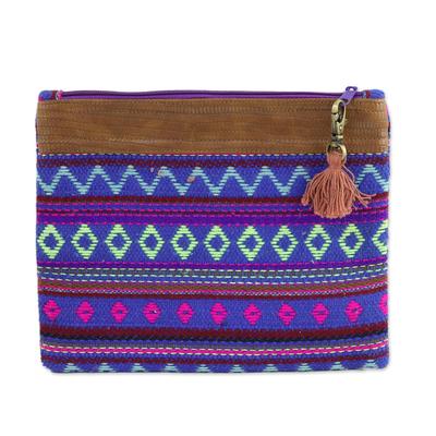 Novica Wool cosmetic bag, Iris Beauty