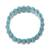 Beaded stretch bracelet, 'Cool Water' - Reconstituted Turquoise Cool Water Beaded Stretch Bracelet (image 2c) thumbail