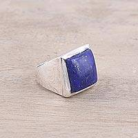 Lapis lazuli ring, 'Might'