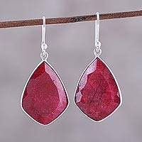 Featured review for Ruby dangle earrings, Passionate Muse