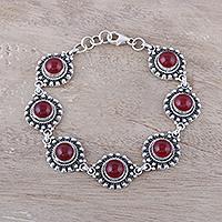 Jasper link bracelet,