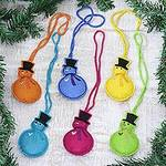 Assorted Wool Snowman Ornaments from India (Set of 6), 'Colorful Snowmen'